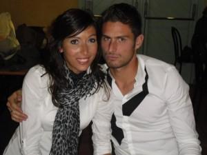 Olivier-Giroud-et-sa-femme-Jennifer