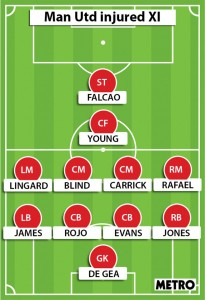 united injured XI
