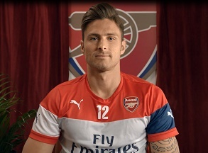 Giroud - BT Sport Europe Advert