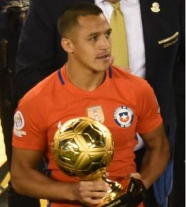 Alexis Sanchez Golden Ball