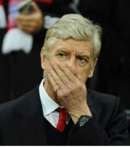 Wenger Munich unhappy