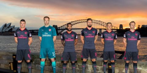 Arsenal's new 3rd Kit revealed JustArsenal