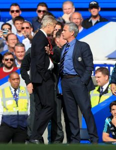 Mourinho Wenger JustArsenal