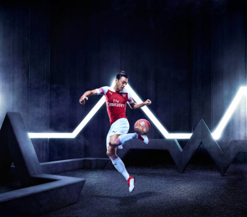 71f914afca3 Arsenal s new kit is not only pinkish – It has Visit Rwanda on it ...