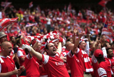 happy Arsenal fans