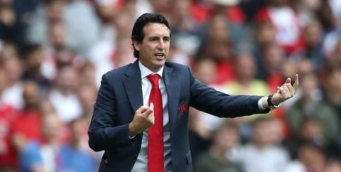 Unai Emery jokes that Arsenal don't want to play Liverpool