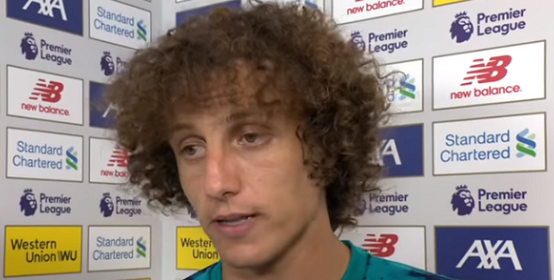 David Luiz Bizarrely Defends Mo Salah Shirt Pull For Liverpool Penalty