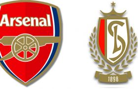 Arsenal v Standard Liege video