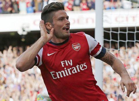 Giroud Arsenal Scores