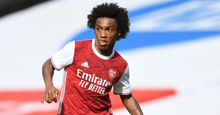 """His pinpoint delivery was completely on the money"""" Willian highly rated for  Leicester performance - Just Arsenal News"""