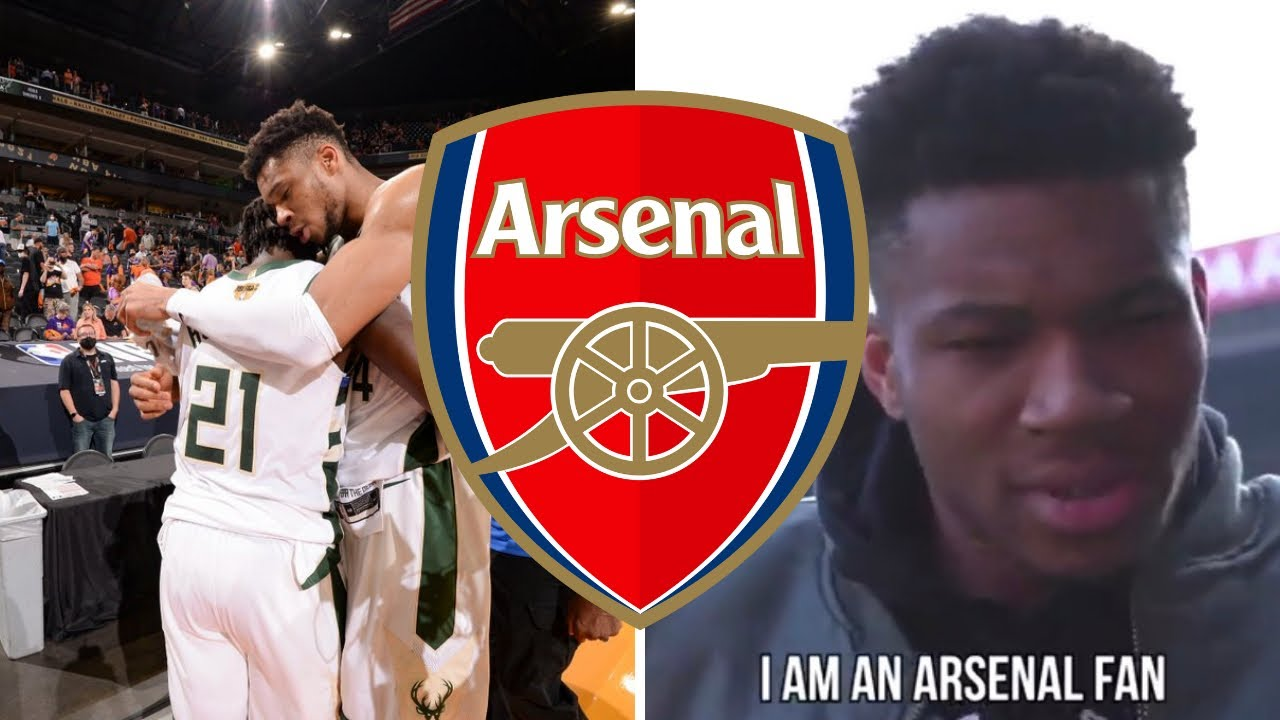 Video: Giannis Antetokounmpo shares his love for Arsenal after NBA triumph